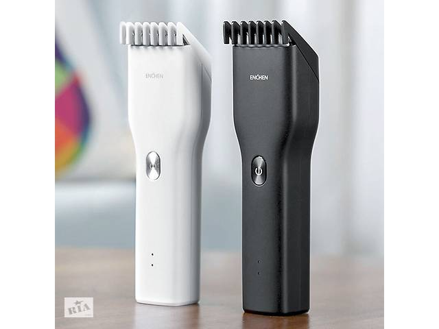 Машинка для стрижки волос с керамическими лезвиями Xiaomi Enchen Boost. Акумуляторная с USB зарядкой.- объявление о продаже  в Тернополе