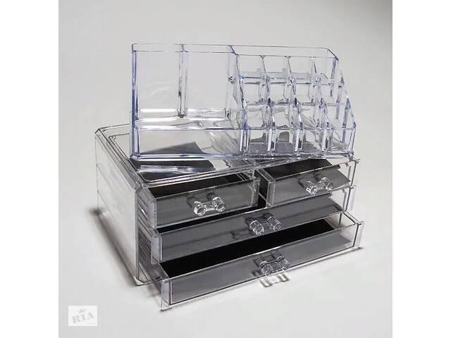 Новый Акриловый органайзер для косметики Cosmetic Storage Box- объявление о продаже  в Виннице