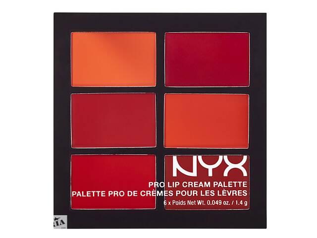 купить бу Палетка помад NYX Pro Lip Cream 6 цветов в Запорожье
