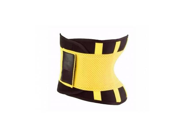 бу Пояс для похудения Hot Shapers Belt Power на липучке желтый Xxl SKL11-142055 в Киеве