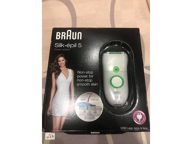 Продам эпилятор Епілятор Braun 5580
