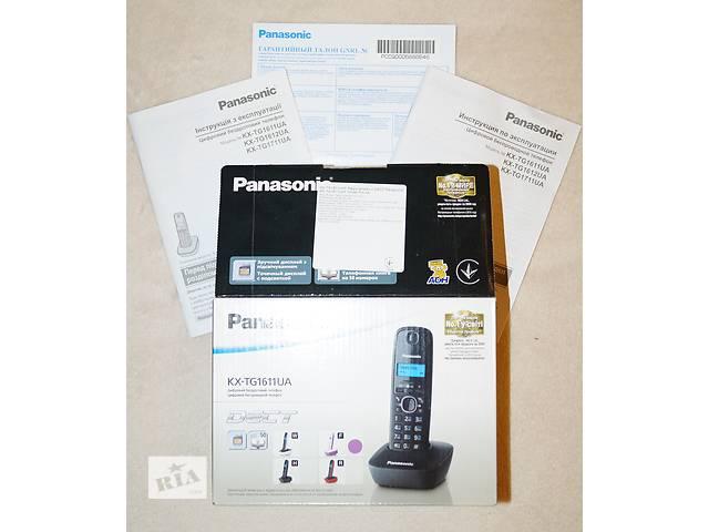 Беспроводной телефон - Panasonic KX-TG1611UA - новый- объявление о продаже  в Киеве