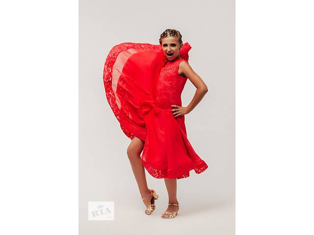 Бейсик, рейтинговое платье для бальных танцев- объявление о продаже  в Львове