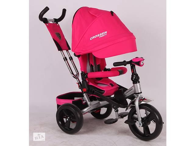 продам Детский трехколёсный велосипед T- 400 CROSSER AIR бу в Одессе