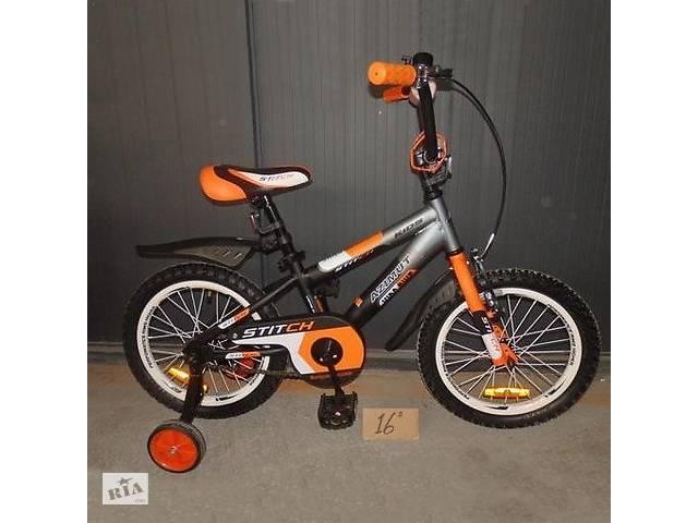 """Детский велосипед Azimut Stitch Premium 16""""- объявление о продаже  в Запорожье"""