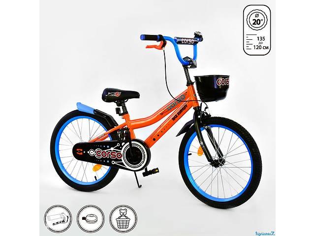 купить бу Двухколесный велосипед 20 дюймов CORSO R 20305 в Одессе