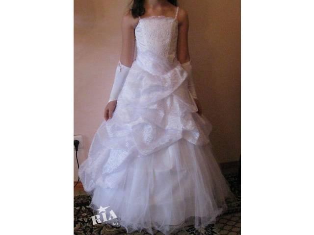 Біле плаття до причастя - Дитячий одяг в Тернополі на RIA.com be0f406bcba66