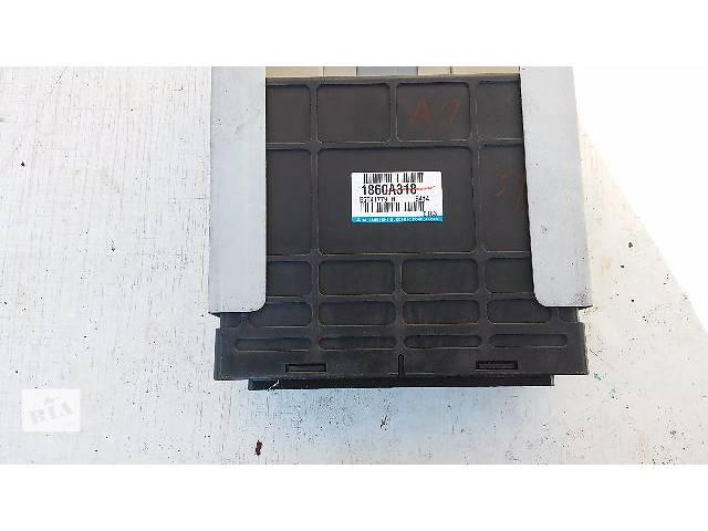 купить бу Блок управления двигателем комплект МКПП 1.6 16V mits Mitsubishi Lancer IX 2003-07 1860A318 в Тернополе
