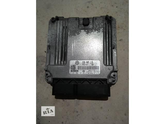 купить бу  Блок управления двигателем для легкового авто Volkswagen Passat B6 2.0 fsi 2.0 tfsi BWA AXX BPY 200 л.с. в Полтаве