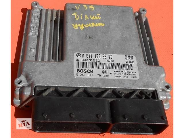 Блок управления двигателем ЭБУ ЕБУ Мозги А 6461500878 Mercedes Vito (Viano) Мерседес Вито V639 (109, 111, 115, 120)- объявление о продаже  в Ровно