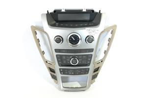блок управления мультимедиа и климат контролем Cadillac CTS `08-09 , 25837735