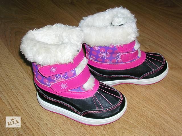 бу Ботинки детские для девочки Weather spirits. Куплены в Канаде в Тернополе