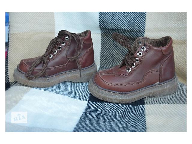 бу ботинки для хлопчика, осінь-весна в Чорткове