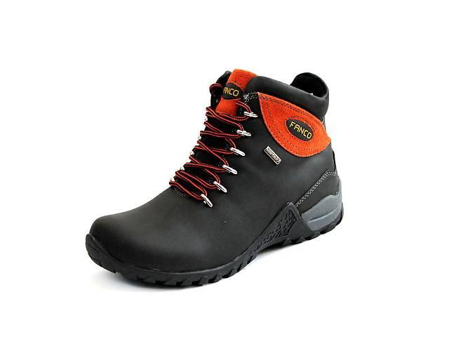 продам Ботинки natural FANCO Air Tex Hiking black orange бу в Львове