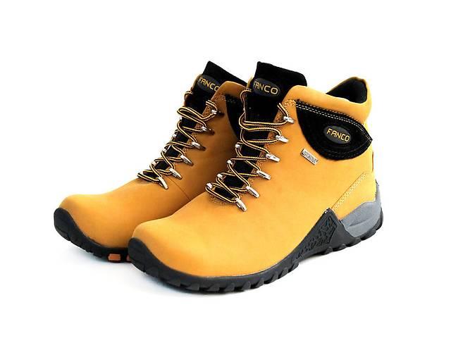 купить бу Ботинки Natural Fanco yellow black в Львове