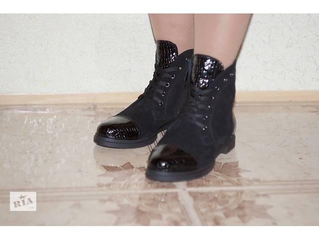 купить бу  Ботинки женские со шнурками.Опт и розница. в Днепре (Днепропетровск)