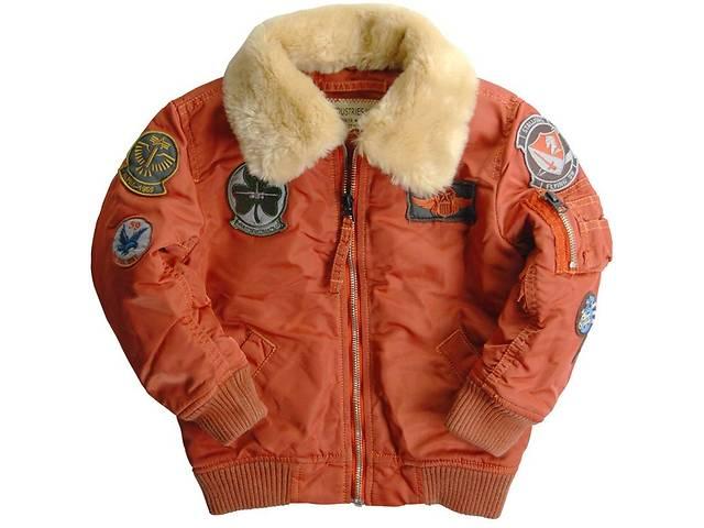 Дитяча осіння куртка Boys Maverick Jacket Alpha Industries- объявление о продаже  в Львові
