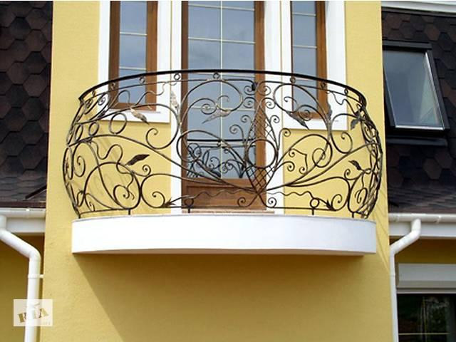 купить бу Кованые балконы, балконные ограждения, перила на балконы. Качественно! Доставка. Монтаж. Вся Украина! в Ладыжине