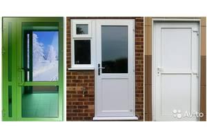 Нові Металопластикові двері