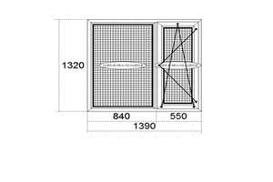 Нові Металопластикові вікна REHAU
