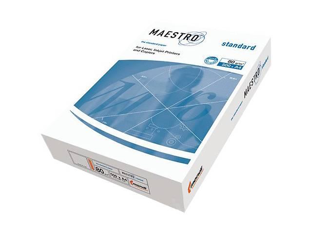 Бумага офисная А4, 80 г/м2, 500 л, Maestro Standard- объявление о продаже   в Украине