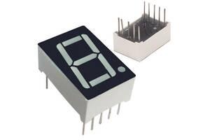 7-сегментний індикатор 0. 56 & quot;червоний 10pin анод Arduino