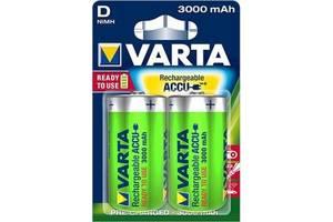 Аккумулятор D Power Accu 3000mAh * 2 Varta (56720101402)