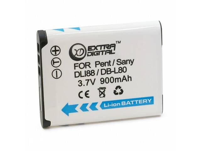 продам Аккумулятор к фото/видео EXTRADIGITAL Sanyo DB-L80 (BDS2638) бу в Харькове