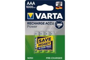 Аккумулятор Varta AAA Prof Accu 1000mAh * 4 (05703301404)
