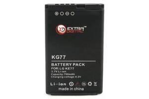 Акумуляторна батарея для телефону EXTRADIGITAL LG KG77 (700 mAh) (DV00DV6058)