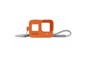 Аксессуар к экшн-камерам GoPro Sleeve&Lanyard Orange для HERO8 (AJSST-004)