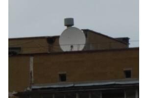 Антенна (тарелка спутниковая) полярка поворотная, позиционер тюнер ДУ