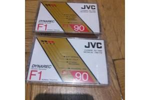 аудиокассеты редкие JVC Dynarec F1 90 -запечатаны
