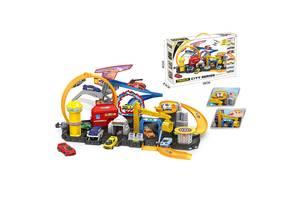 Автотрек Паркинг A-Toys 7 машинок в наборе PENG RONG (P884-A-RT)