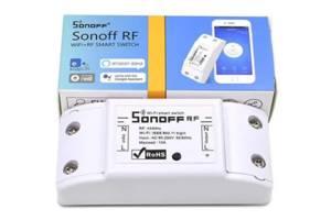 Беспроводной Sonoff WiFi выключатель с таймером