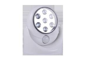 Cветильник с датчиком движения Белый (hub_purP25947)