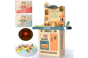 Детская игровая модульная кухня с водичкой и холодным паром 998A-B со звуковыми и световыми эффектами (2 вида)