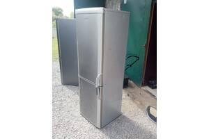 Двох камерний холодильник ВЕКО в нержавійці-1.80 см б.у з Європи