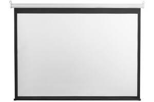 """Экран подвесной моторизированный 2E 4:3 98"""" (2x1.5 м)"""