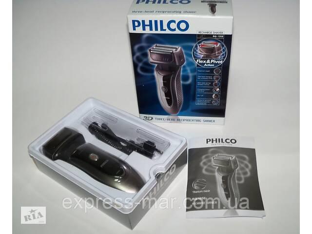 купить бу Електробритва PHILCO RQ 1058 з висувним тримером, акумуляторна в Харкові