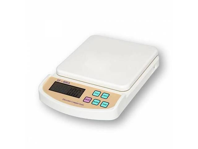 Электронные кухонные весы до 5 кг SF-400A + Батарейки с подсветкой (45158)- объявление о продаже  в Киеве