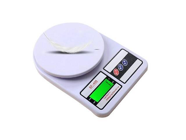 купить бу Электронные кухонные весы Sf-400 до 10 кг с подсветкой в Харькове