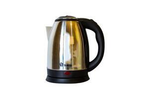 Электрический чайник Domotec 2 л Черный с серебристым