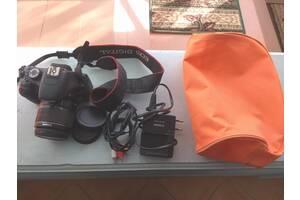Фотоапарат Canon EOS 550D + об'єктив EF-S 18-55
