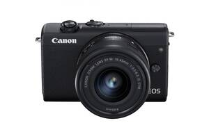 Фотоаппарат Canon EOS M200 kit (15-45mm) IS STM Black