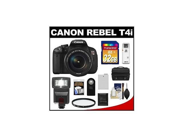купить бу Фотоапарат Canon Rebel T4i = EOS 650D + 18-135mm EF-S IS Lens в Славуті