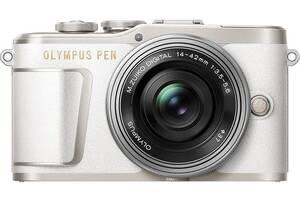 Фотоаппарат Olympus PEN E-PL9 White | kit 14-42mm