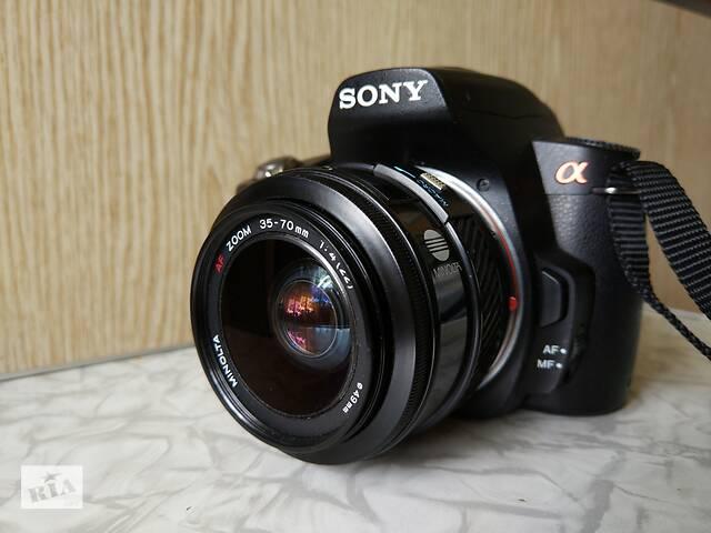 Фотоаппарат Sony A390 + Minolta 35-70 F4- объявление о продаже  в Киеве