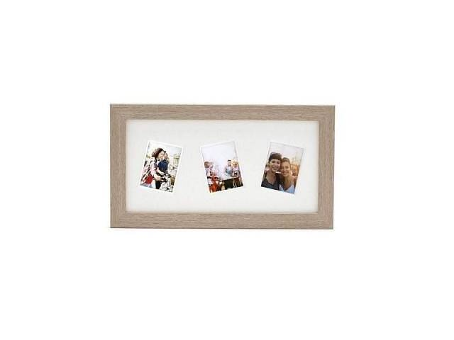 бу Фоторамка Fujifilm INSTAX 3 RANDOM MOUNT MINI FRAME – LIGHT OAK (70100139130) в Харкові
