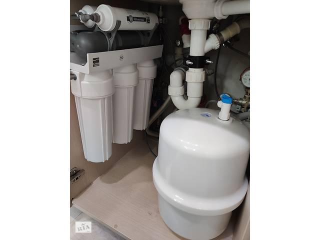 бу Фильтр обратного осмоса Platinum Wasser PLAT-F-ULTRA 6 для питья в Киеве